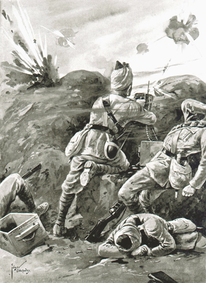 The Forgotten 400,000 Muslim Heroes Who Fought In The Trenches Of The Great War (1914- 1918)