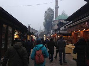 bosnia sarjevo muslim traveller