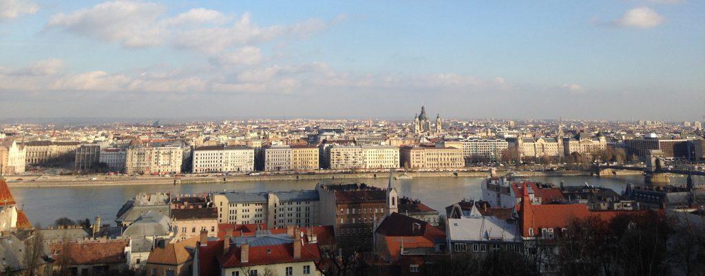 River Danube muslim traveller