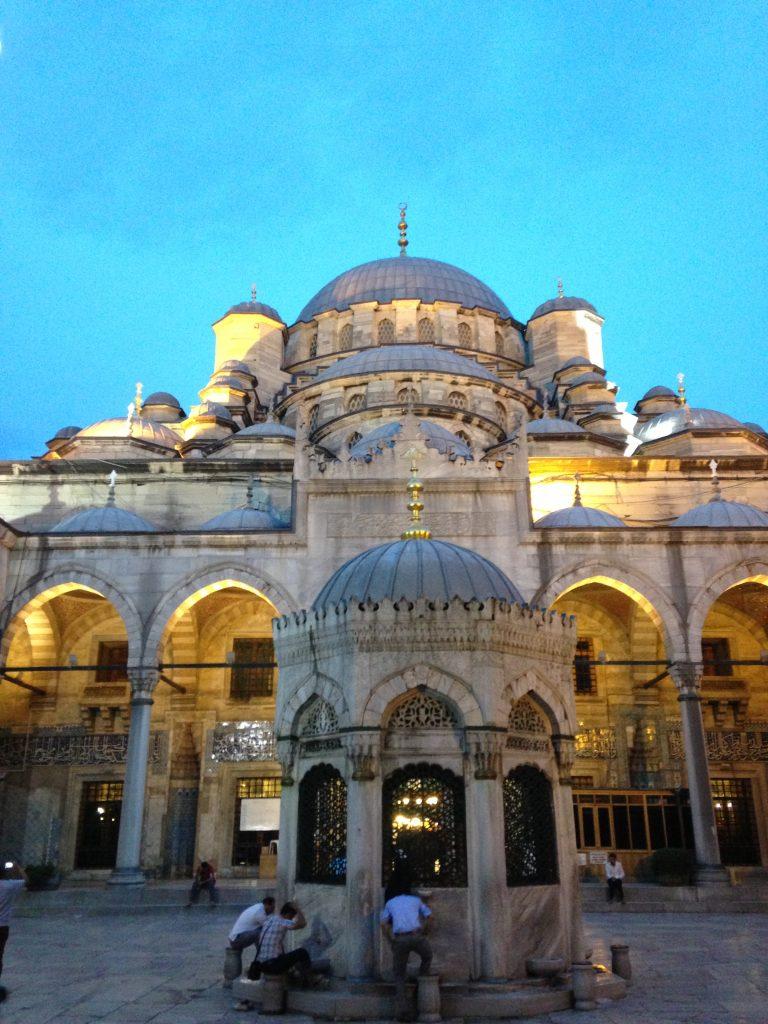 Mosque In Istanbul, Turkey muslim traveller