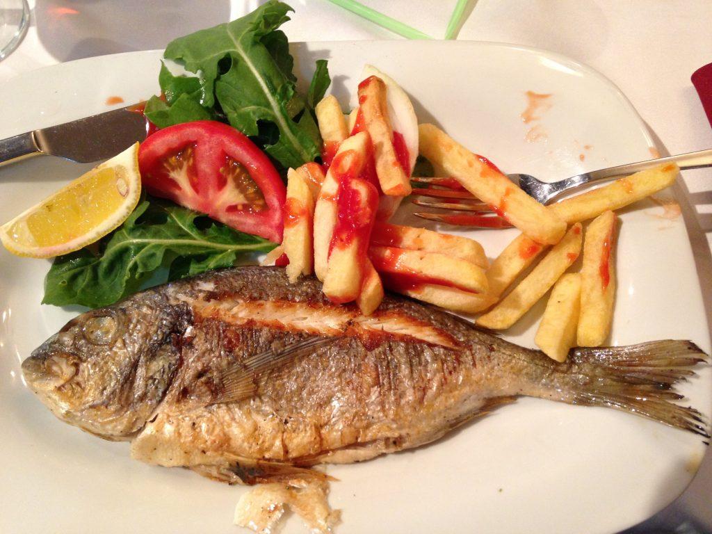 Fish & Chips Turkish Style muslim traveller