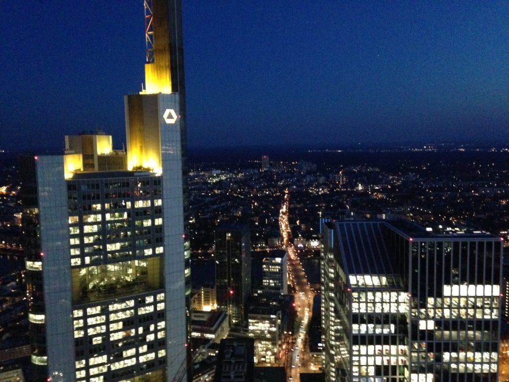 Main Tower Skyline Frankfurt Muslim traveller