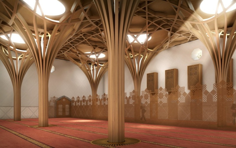 Huge Cambridge Mosque Being Built In The UK