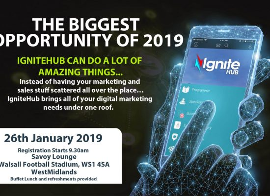 IgniteHub To Hold Live Event