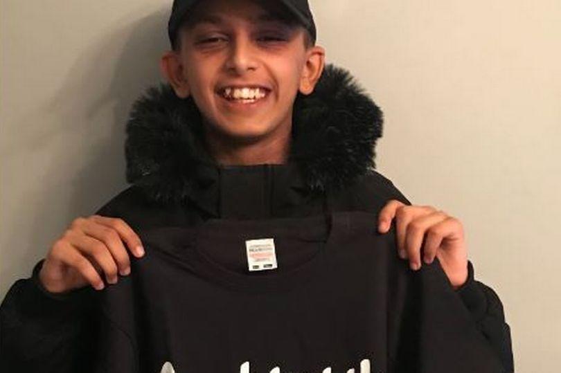 British Muslim teen
