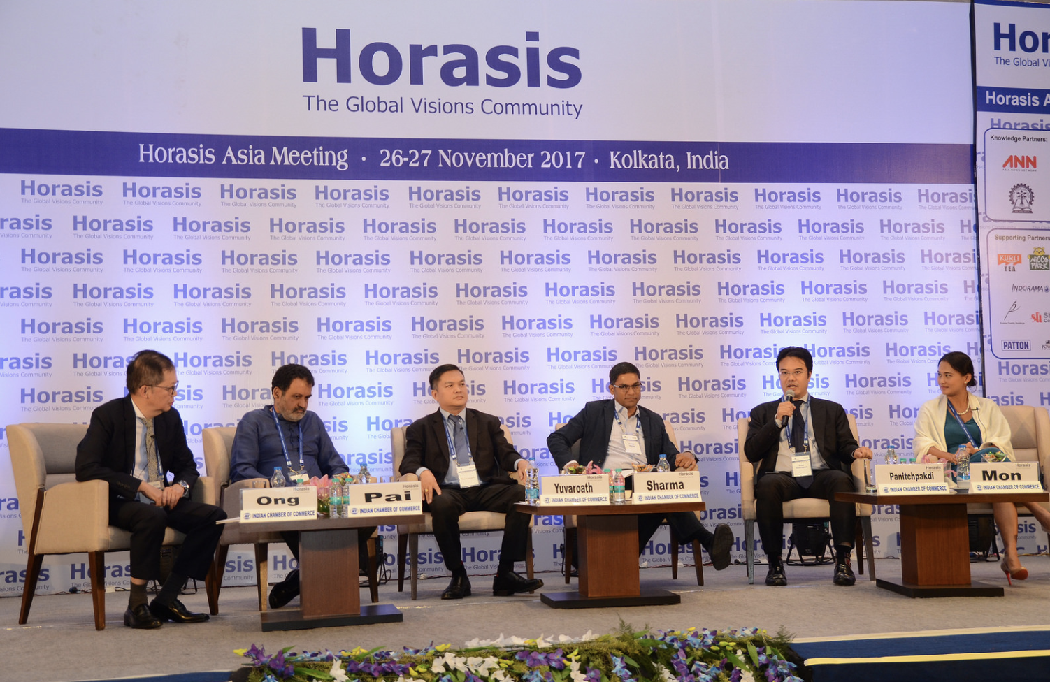 "Presenting ""Fixing the Global Food Chain"" to world leaders at prestigious Horasis Global Meeting"