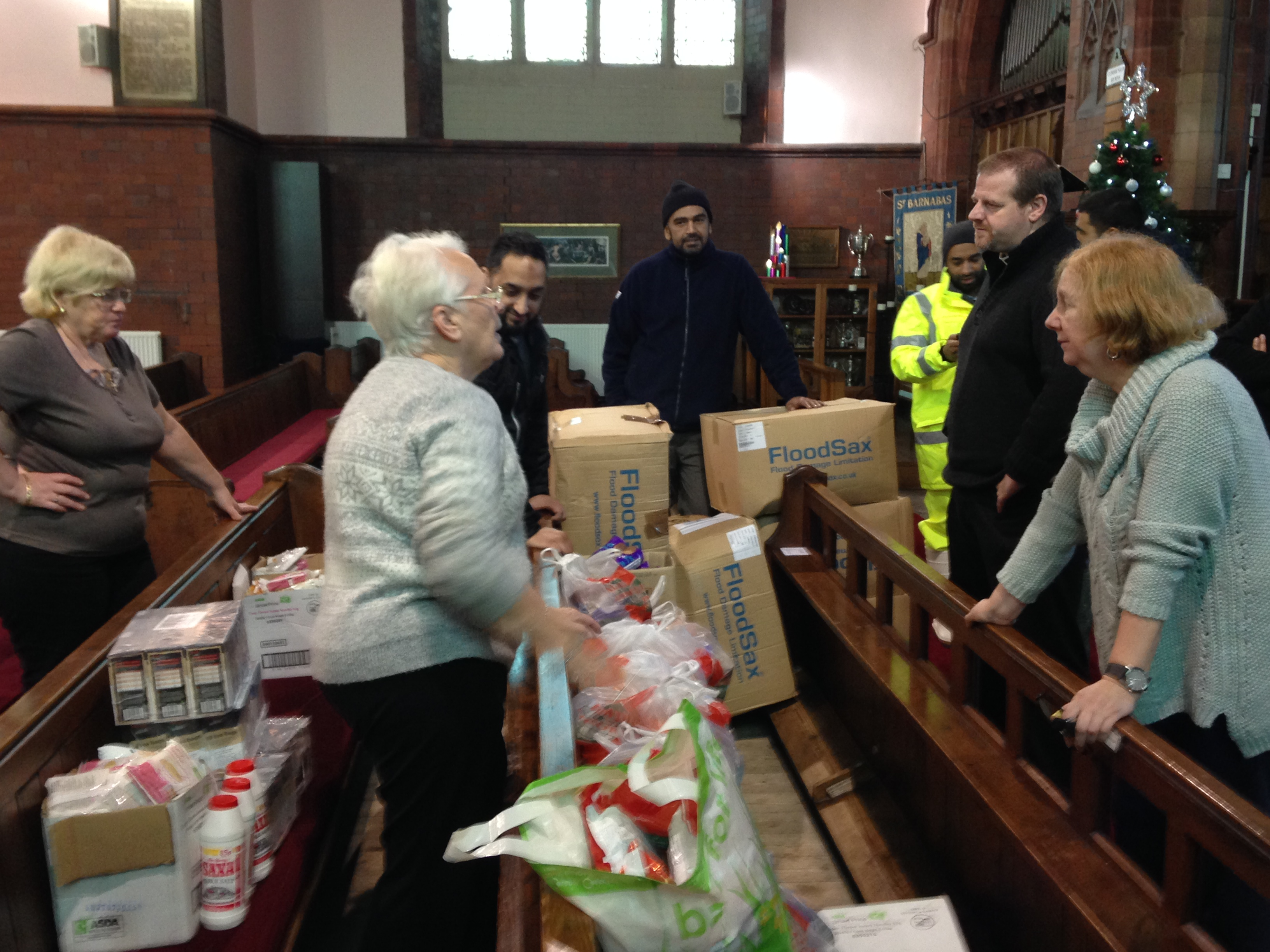 Interfaith Work During UK Floods