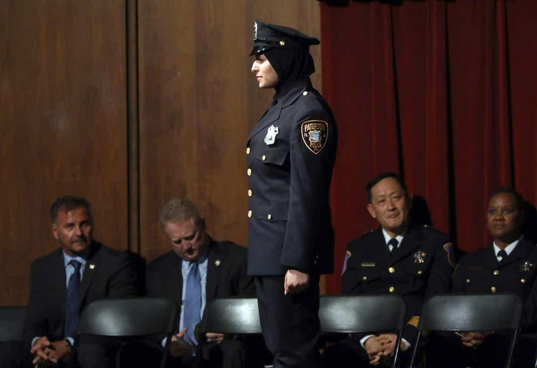 Hijabi Police Officer