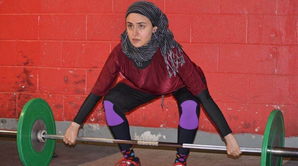 Female Weightlifter