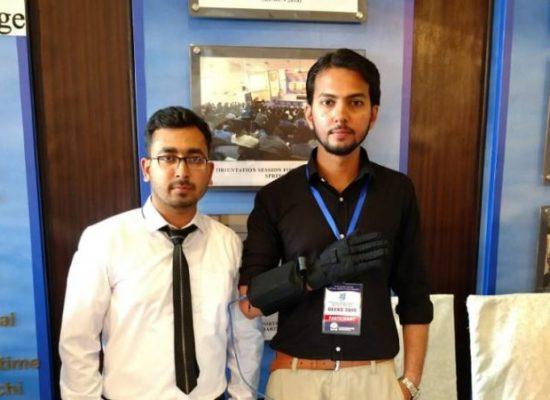 Pakistani students build