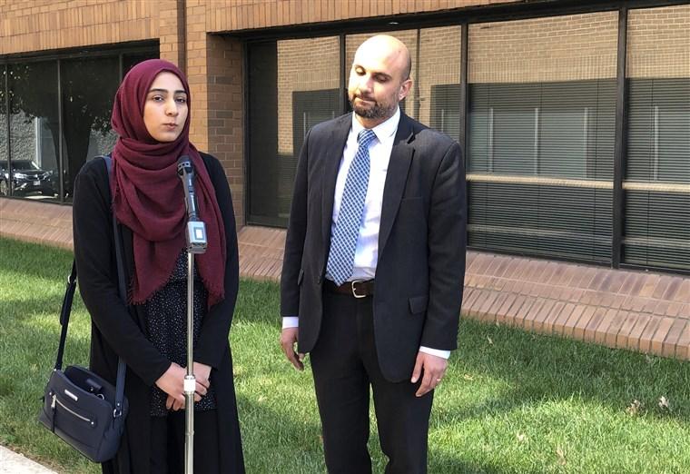 Muslim Woman Sues Company